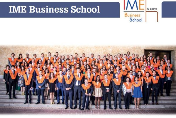 Folleto IME Business School 2018 - 2019